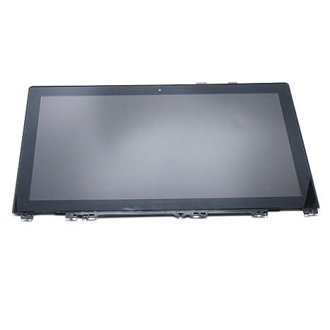 FTDLCD 15.6 LCD Pantanlla Táctil Digitalizador Asamblea con Marco Reparación de Portátil para Lenovo