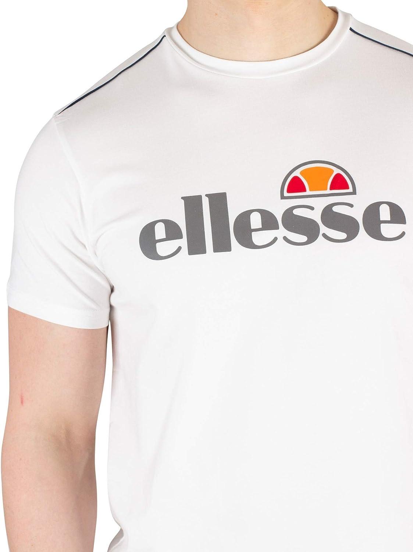 ELLESSE MEN/'S SXC08170 GINITI 2 T-SHIRT TEE IN WHITE //// BNWT ////