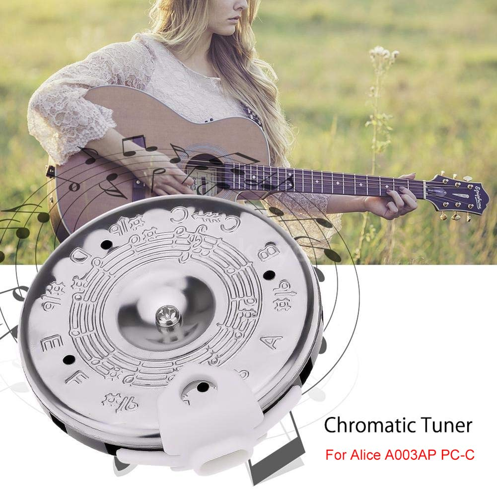 Man9Han1Qxi Chromatische 13-Note-Pitch-Tuner-Stimmgitarre f/ür HBK-XYQ-13 1