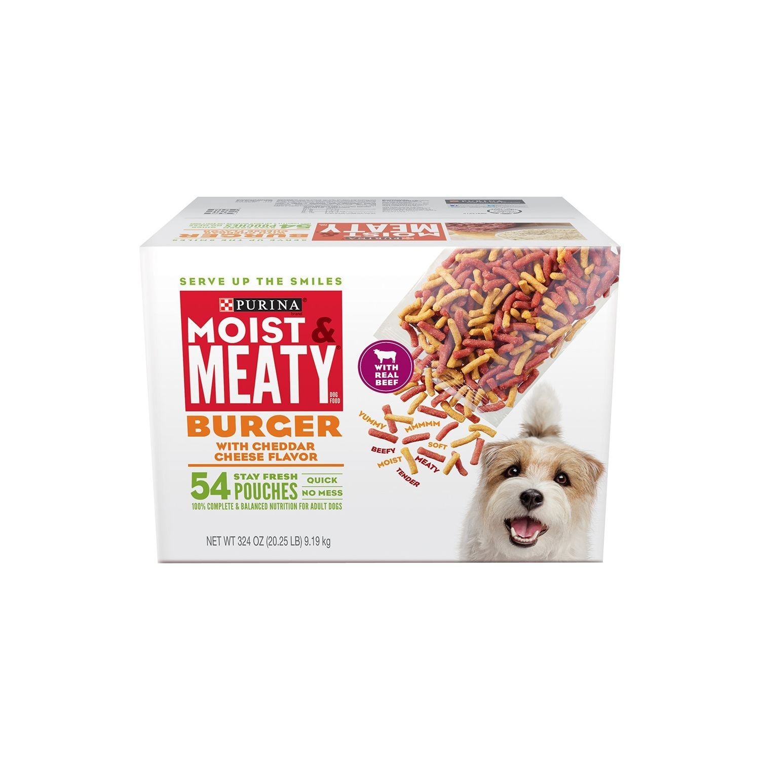 Moist & Meaty Purina, 54 Pouches