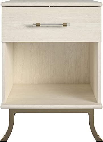 Little Seeds Monarch Hill Clementine White Nightstand