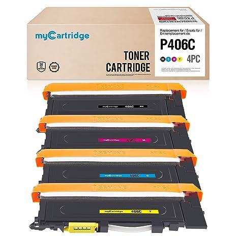 Mycartridge Tóner Compatible para Samsung CLT P406C 406S K406S ...