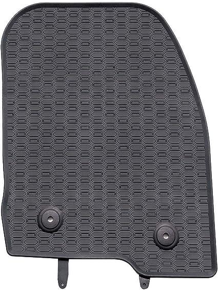 Mossa Gummi Fußmatten 4 Teilig 100 Passgenau Schwarz Gummimatten 5902538448079 Auto