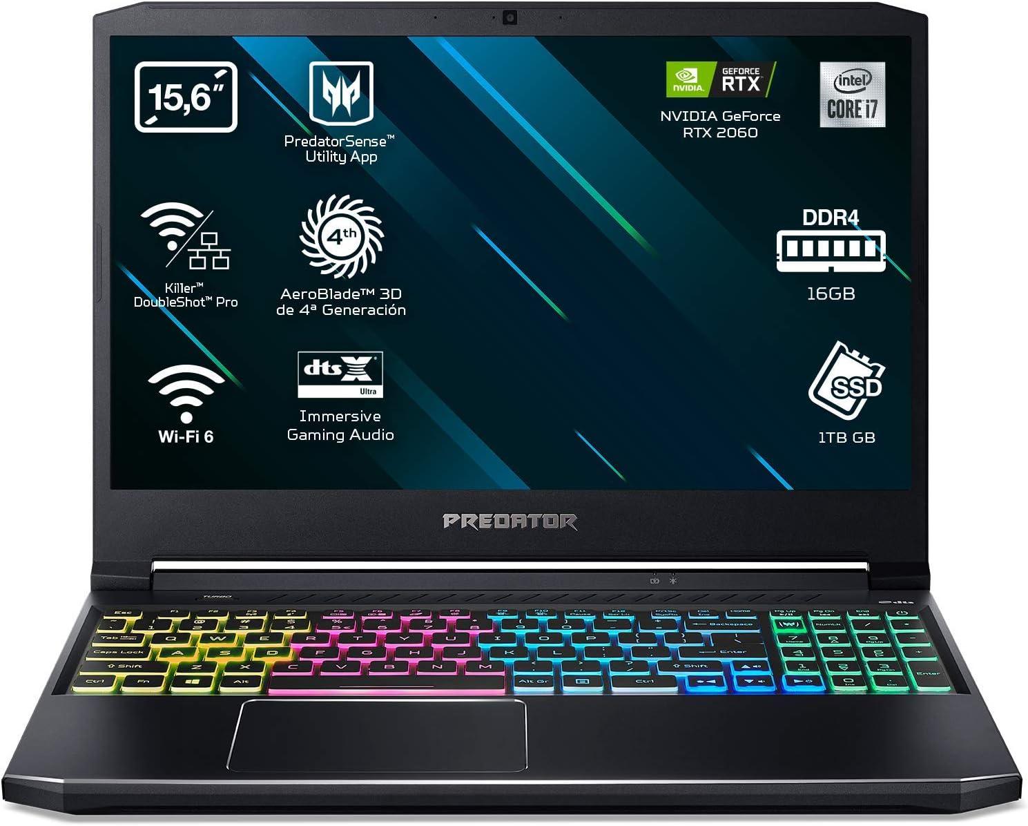 Acer Predator Helios 300 PH315-53 - Portátil Gaming 15.6