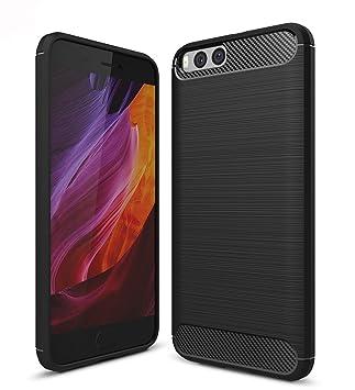 Xiaomi Mi6 Funda, SMTR Calidad premium Cubierta Delgado material de silicona Funda Protective Case Cover [Diseño durable] [Máxima protección contra ...