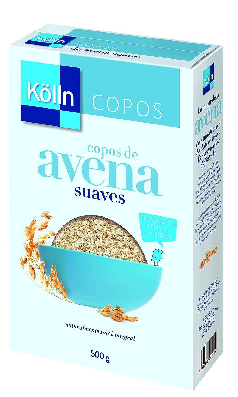 Kölln Copos de avena original - Paquete de 7 x 500 g - Total: 3.5 kg