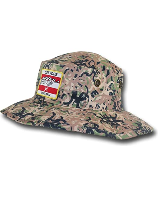 cc21b44c7 Hooey Ziggy Camo Bucket Hat: Amazon.ca: Clothing & Accessories