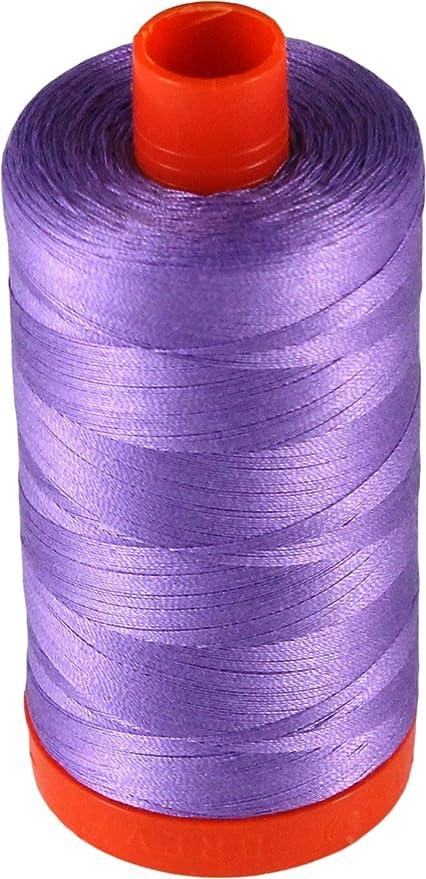 Aurifil Mako Cotton Thread Solid 50wt 1422yds Medium Lavender