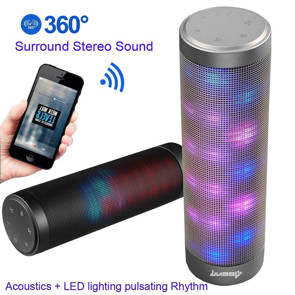 Amazon.com: [UPGRADED] Portable Bluetooth Light Speakers - LUOOV ...
