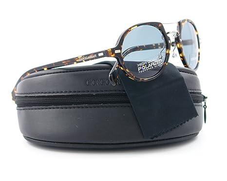 3e4eed54366d Giorgio Armani GA 859/S IL5 Men's Spotted Havana Polarized Aviator  Sunglasses