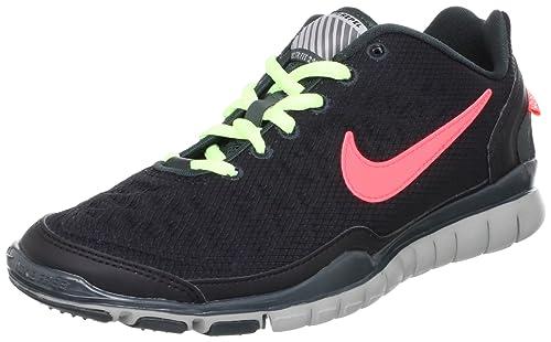 29337b4de3c Nike Womens Free TR Fit 2 Shield 5 M US Black Seaweed Medium Grey Bright  Crimson  Amazon.ca  Shoes   Handbags