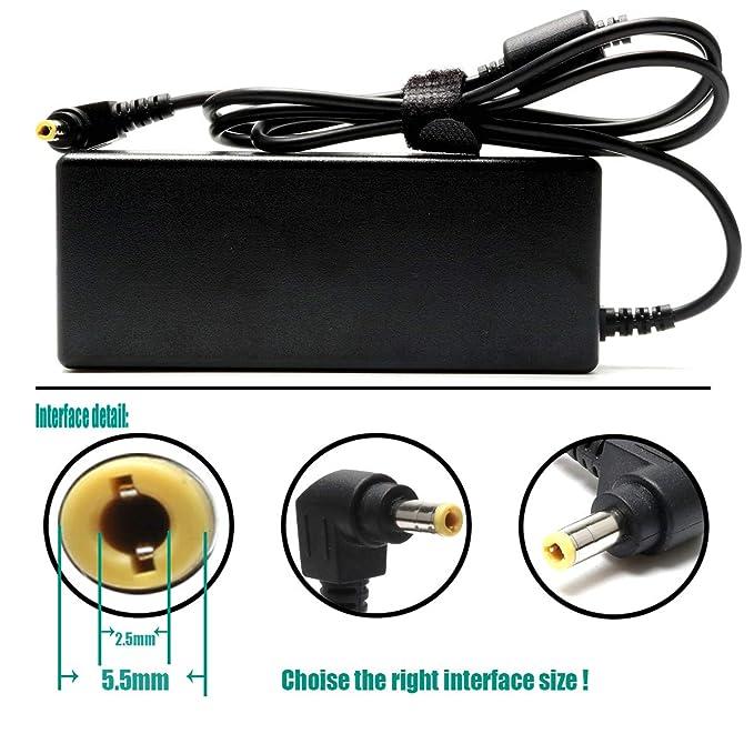 Amazon.com: 90W AC Cargador de portátil de repuesto para ...