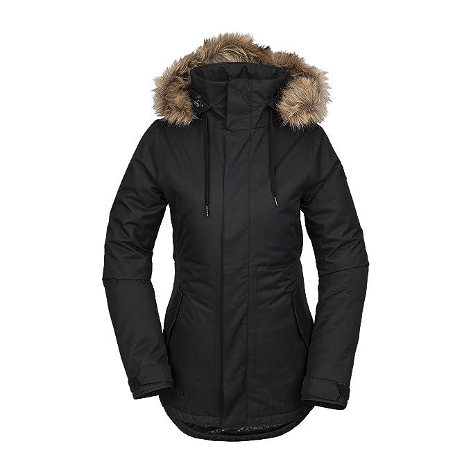 Amazon.com: Volcom Fawn - Chaqueta de nieve aislante para ...