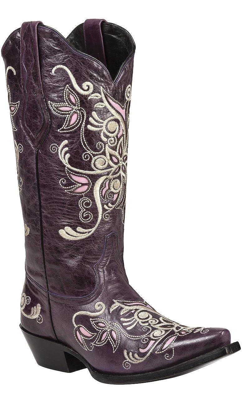Black Star COSTILLA (Purple) Women's Cowboy Boots B00G70X1DA 8.5 B(M) US