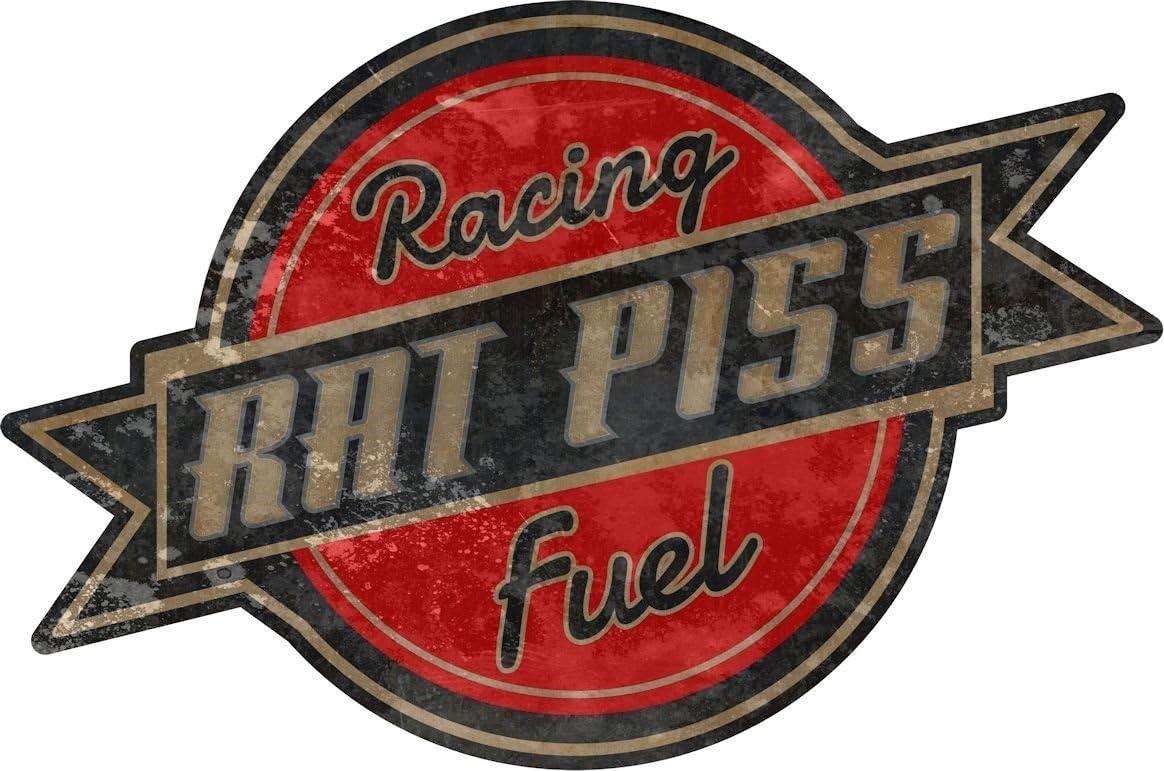 "4.5/"" x 5.5/"" Rat Rod Rat Piss Racing Fuel Decal Racing Parts ProSticker 758 One"
