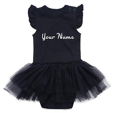 23bdf5e4595 Amazon.com  SOBOWO Personalized Girl Tutu Dress