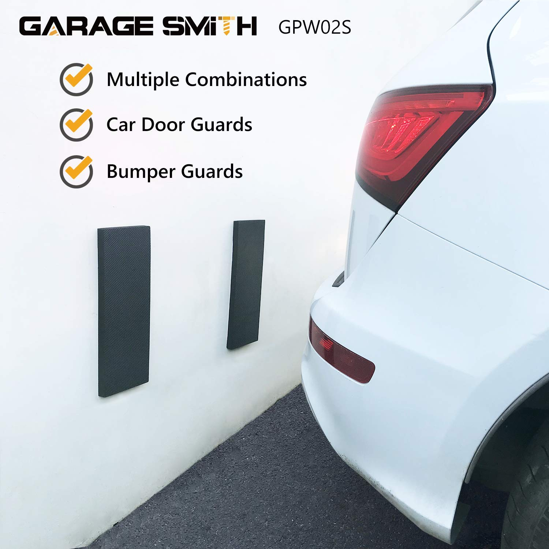 Konzipiert in Deutschland 2er Set Ampulla GWP02 Garagenwandschutz Auto T/ürkantenschutz T/ürkantenschoner von Garage Smith