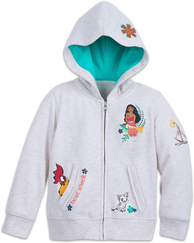 Multi Disney Moana Zip-Up Hoodie for Kids