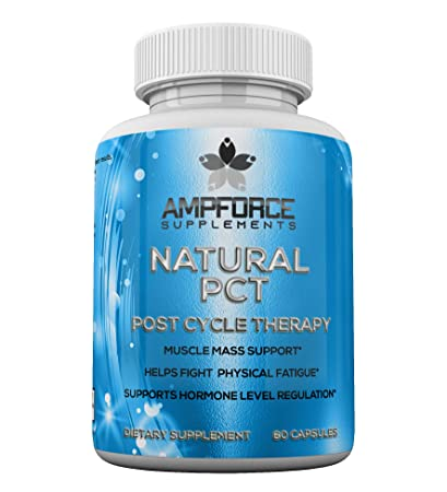Amazon com: Natural PCT, Post Cycle Therapy, 30 Servings