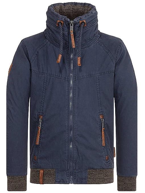 Naketano Schwanzloses Opfa Jacket Black  Amazon.de  Bekleidung 67006a5828