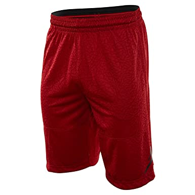 defe1abf540b Image Unavailable. Image not available for. Color  Nike Mens Jordan  Elephant Printed Blockout Basketball Shorts ...