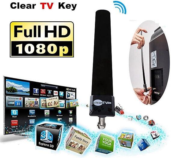 Zooarts CableVision - Antena para Satélite de Interior HDTV