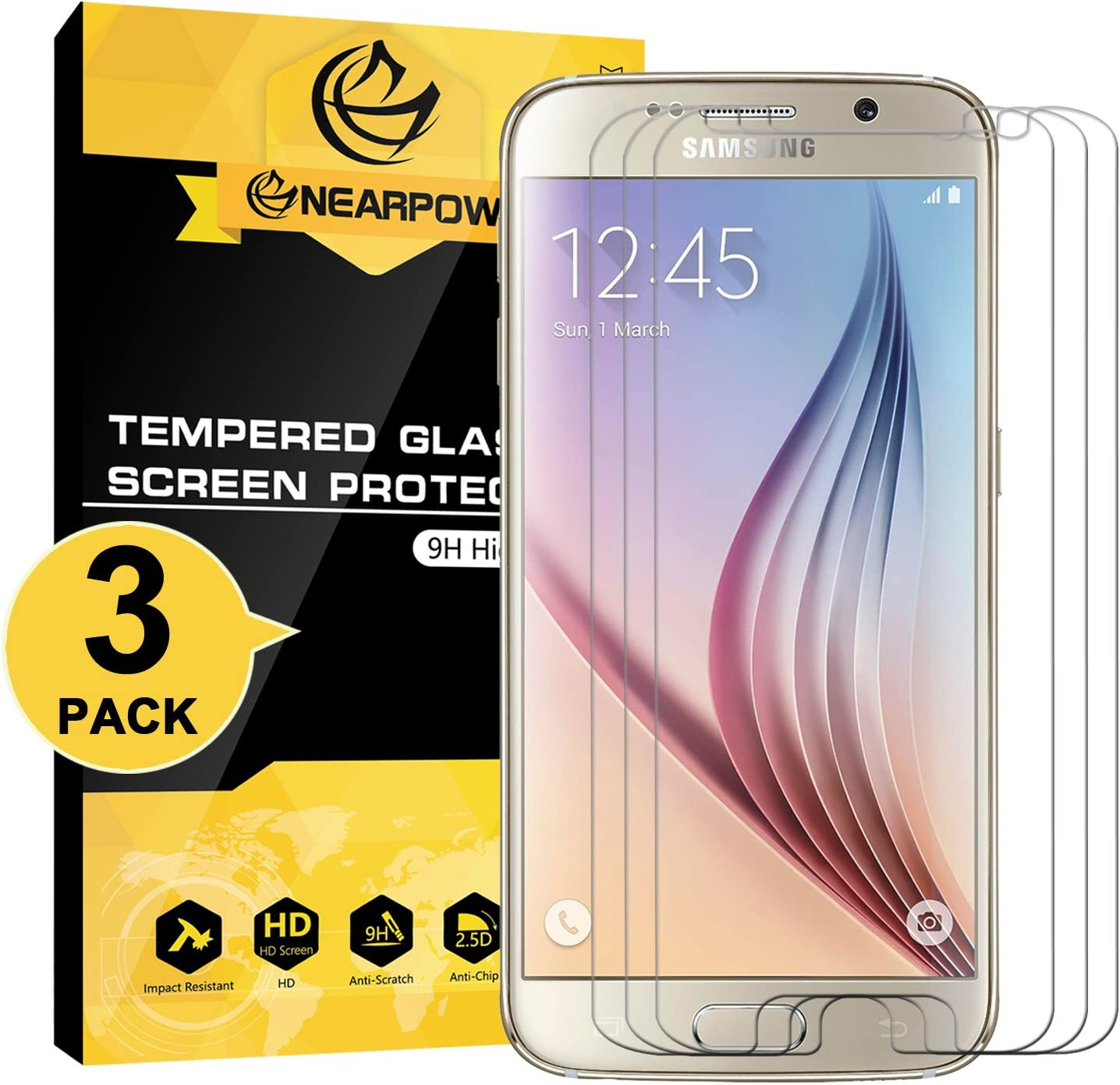 Shatterproof Tempered Glass Film Scratch-Resistant Screen Protector for Sony Xperia X Conber Screen Protector for Sony Xperia X 2 Pack Case Friendly