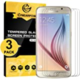 [2 Pack] Samsung Galaxy S6 Screen Protector, Nearpow [Tempered Glass] Screen Protector with [9H Hardness] [Crystal Clear] [Easy Bubble-Free Installation] [Scratch Resist]