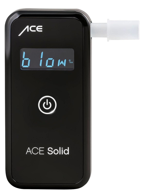 ACE Solid Alkoholtester - Professioneller Promilletester mit Digitalanzeige Halbleitersensorzelle ACE AL7010