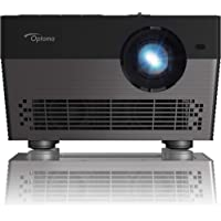Optoma UHL55 1500-Lumens DLP 3D Home Theater Projector with In-build Speaker (Black)