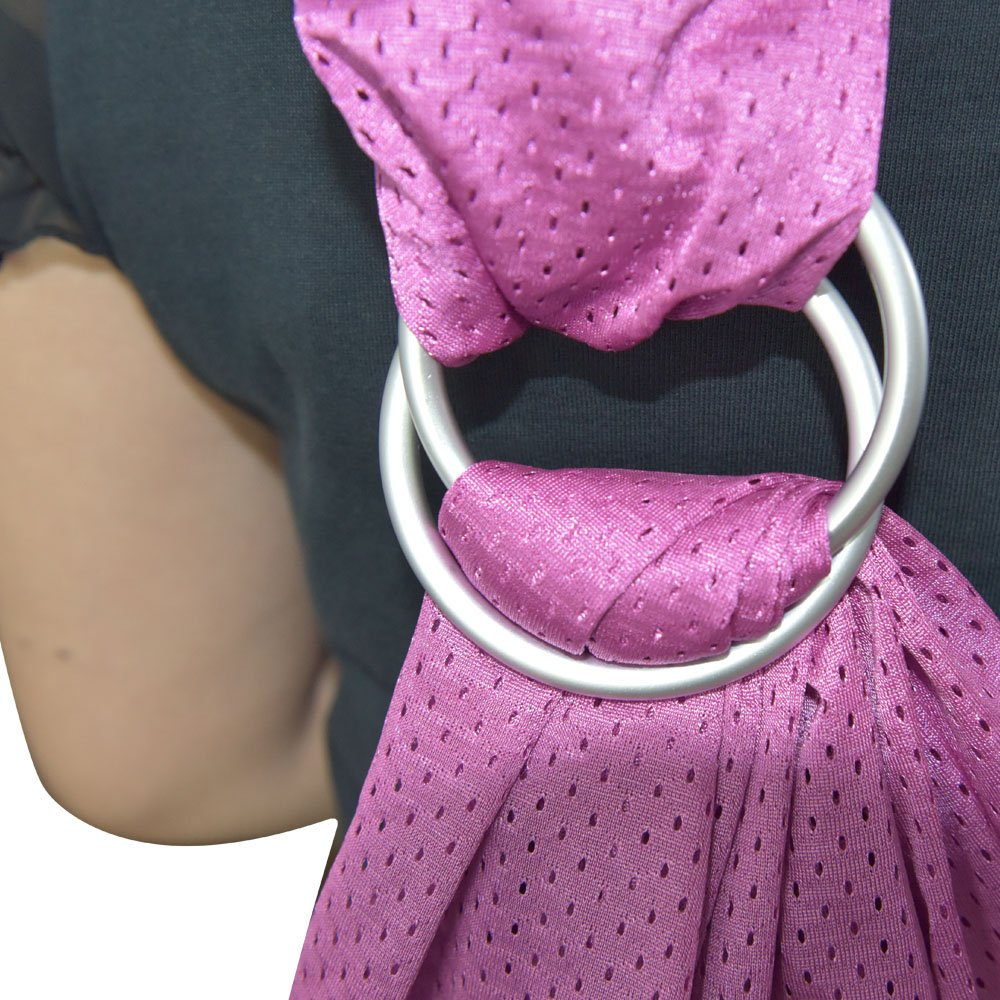 Topind Baby Sling Ring Wrap Infant Carrier Wrap Toddlers White