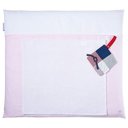 Cambiador – Fregadero Color Rosa De Nordic Coast | cambiador 70 x 80 cm con perros