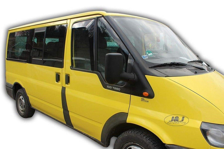 J/&J AUTOMOTIVE Ford Transit 2 Portes 2000-2006 Deflecteurs dair D/éflecteurs de Vent 2pcs