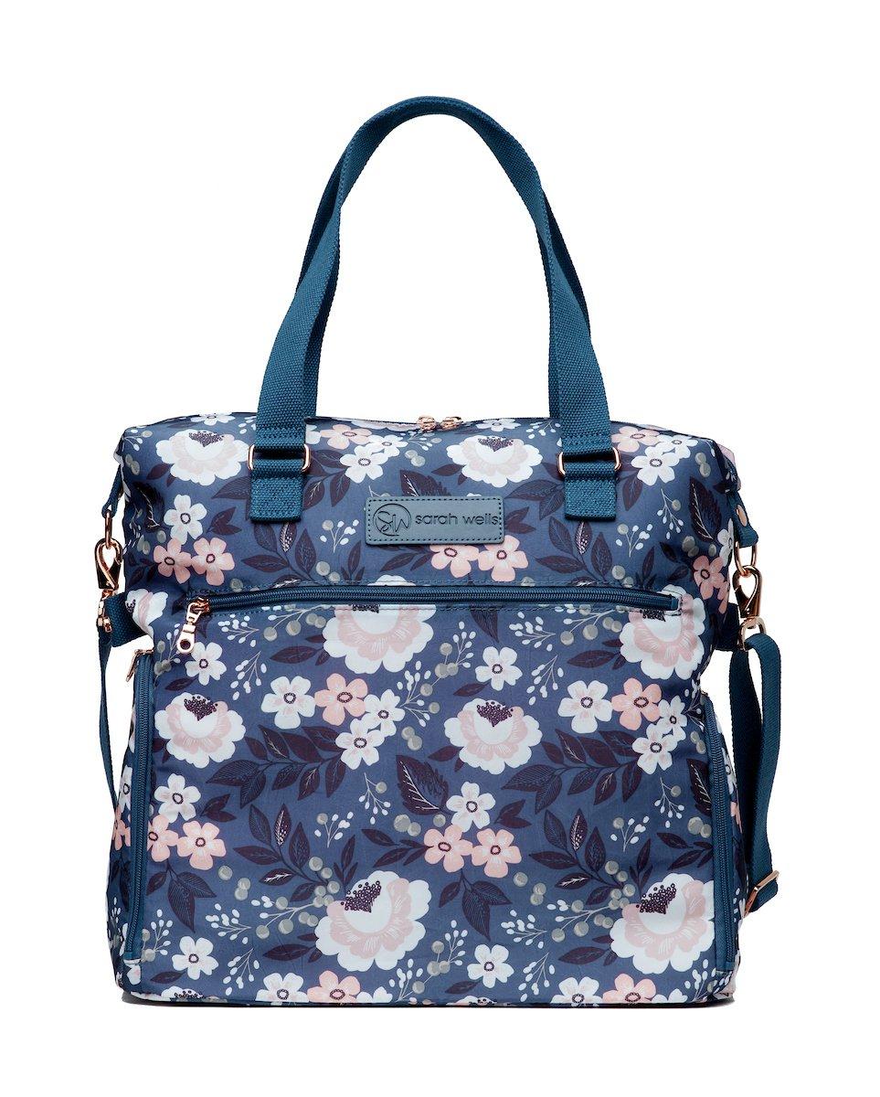 Sarah Wells Lizzy Breast Pump Bag (Le Floral) by Sarah Wells