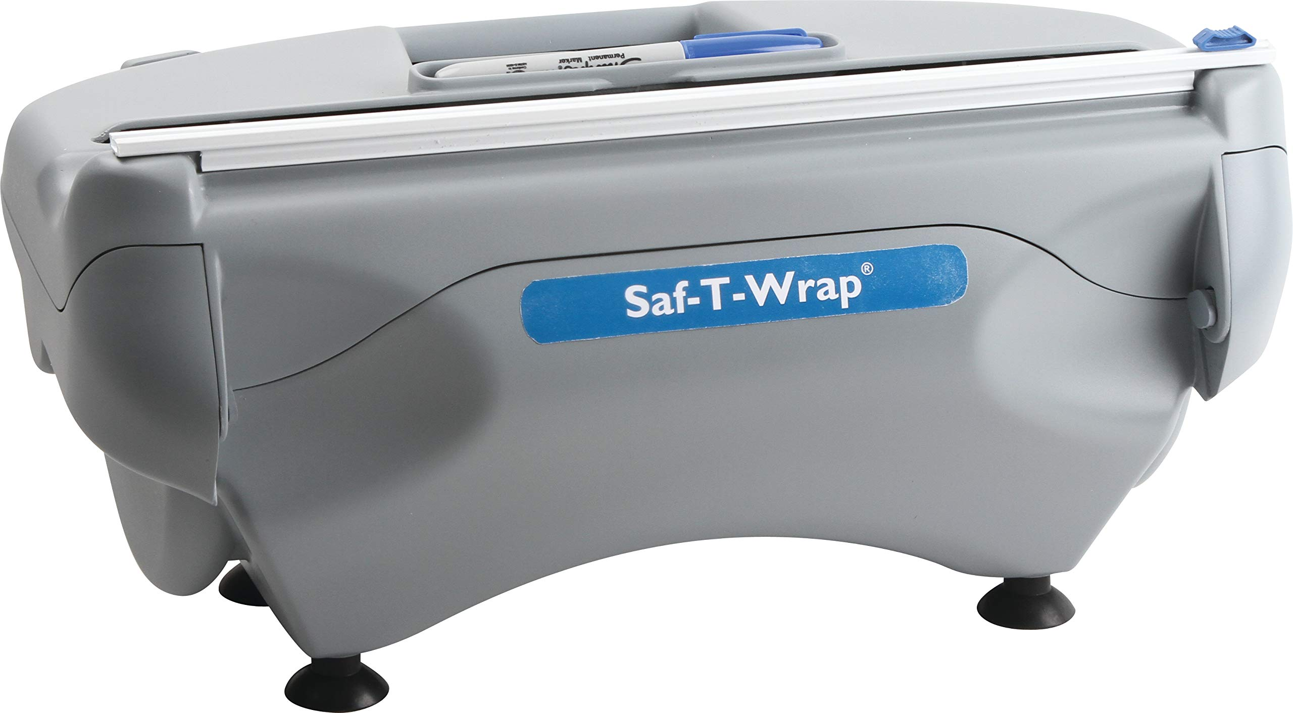 San Jamar SW12 Saf-T-Wrap Foil/Film Dispener for 12'' Rolls by San Jamar