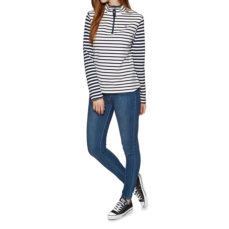 Creme Stripe Joules Womens Fairdale Sweatshirt