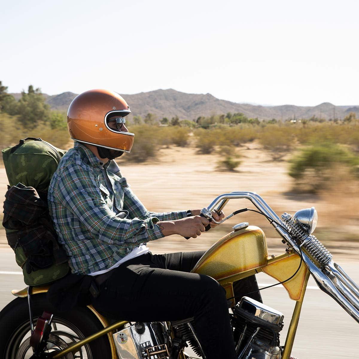 Large Gloss Coyote Tan Biltwell Gringo DOT//ECE Helmet