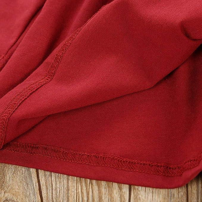 Amazon.com: Conjunto de ropa de manga larga para niñas con ...