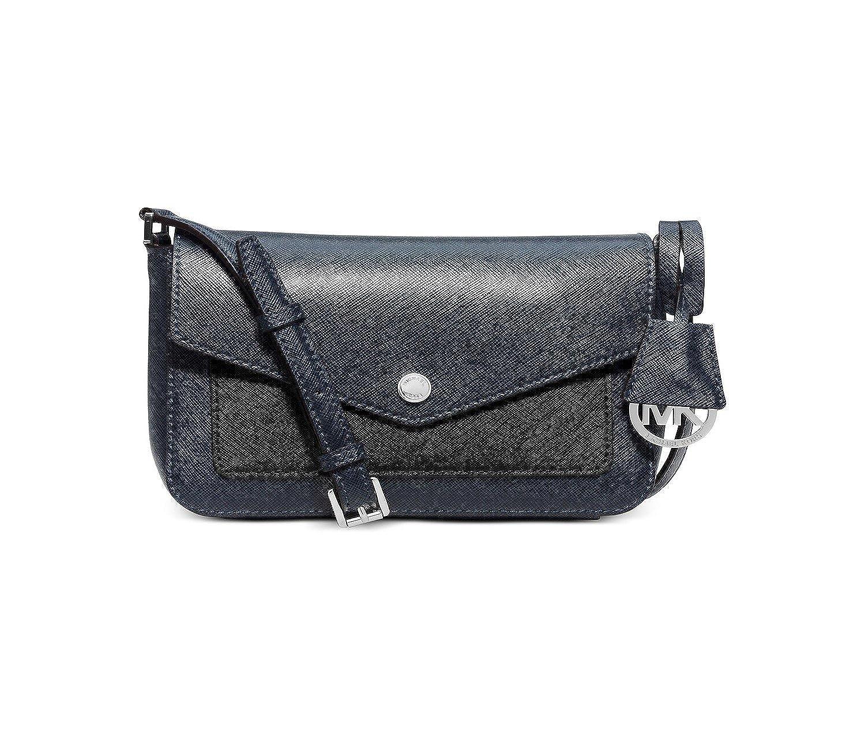 4db7ae982850 MICHAEL Michael Kors Womens Greenwich Small Crossbody (Navy/Black): Handbags:  Amazon.com