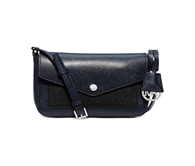 23036b89570283 MICHAEL Michael Kors Womens Greenwich Small Crossbody (Navy/Black):  Handbags: Amazon.com