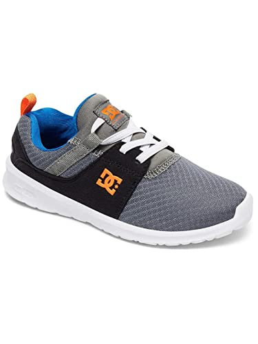 HeathrowSneaker Dc Shoes BambinoGrigiogris Shoes HeathrowSneaker Dc GreyblueEu Yb6yf7g