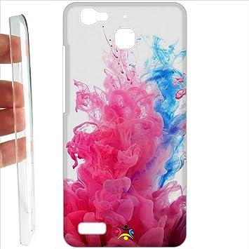 comprare on line 8029e bd383 Custodia cover RIGIDA per Huawei P8 Lite Smart: Amazon.it ...