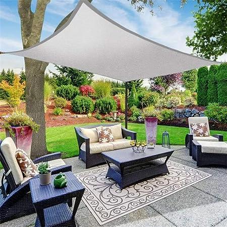 Sun Sail Shade DIY toldo del patio Gazebo del pabellón impermeable al aire libre sombra del