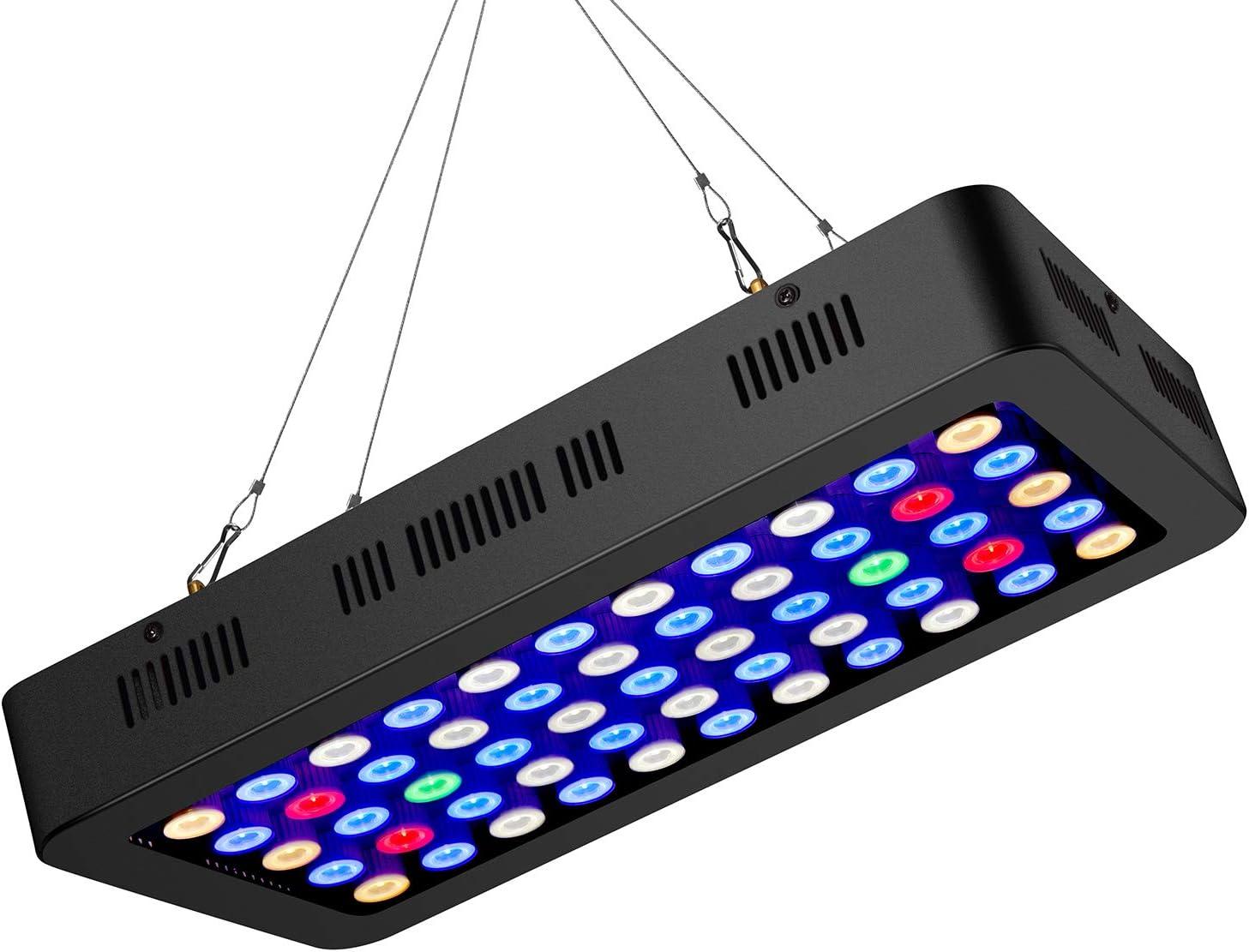 ZXMEAN 165W LED Aquarium Light