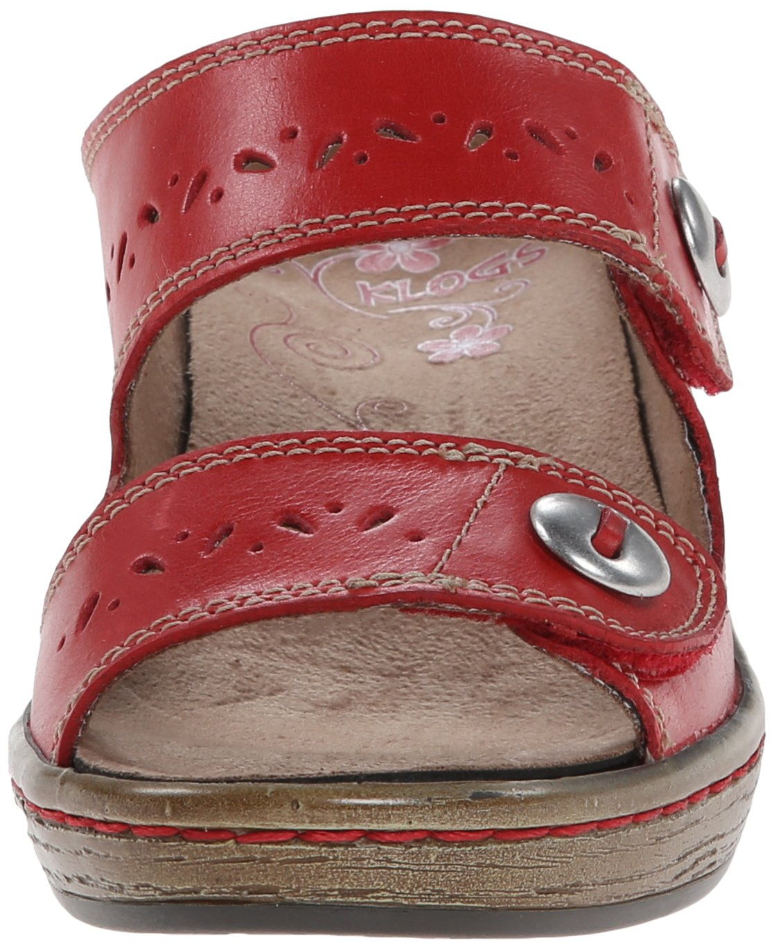 Klogs USA Women's Journey Dress Sandal B00MY7QKMY 10 B(M) US|Hunter Red