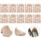 Moleskin Tape Flannel Adhesive Pads Heel Stickers Blister Prevention Pads Anti-wear Heel Pads for Feet Fabric Padding…