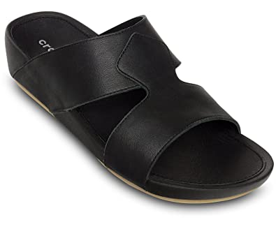 4b686b3dd9ff crocs Shamaal 2.0 Men Sandal in Black  Buy Online at Low Prices in India -  Amazon.in