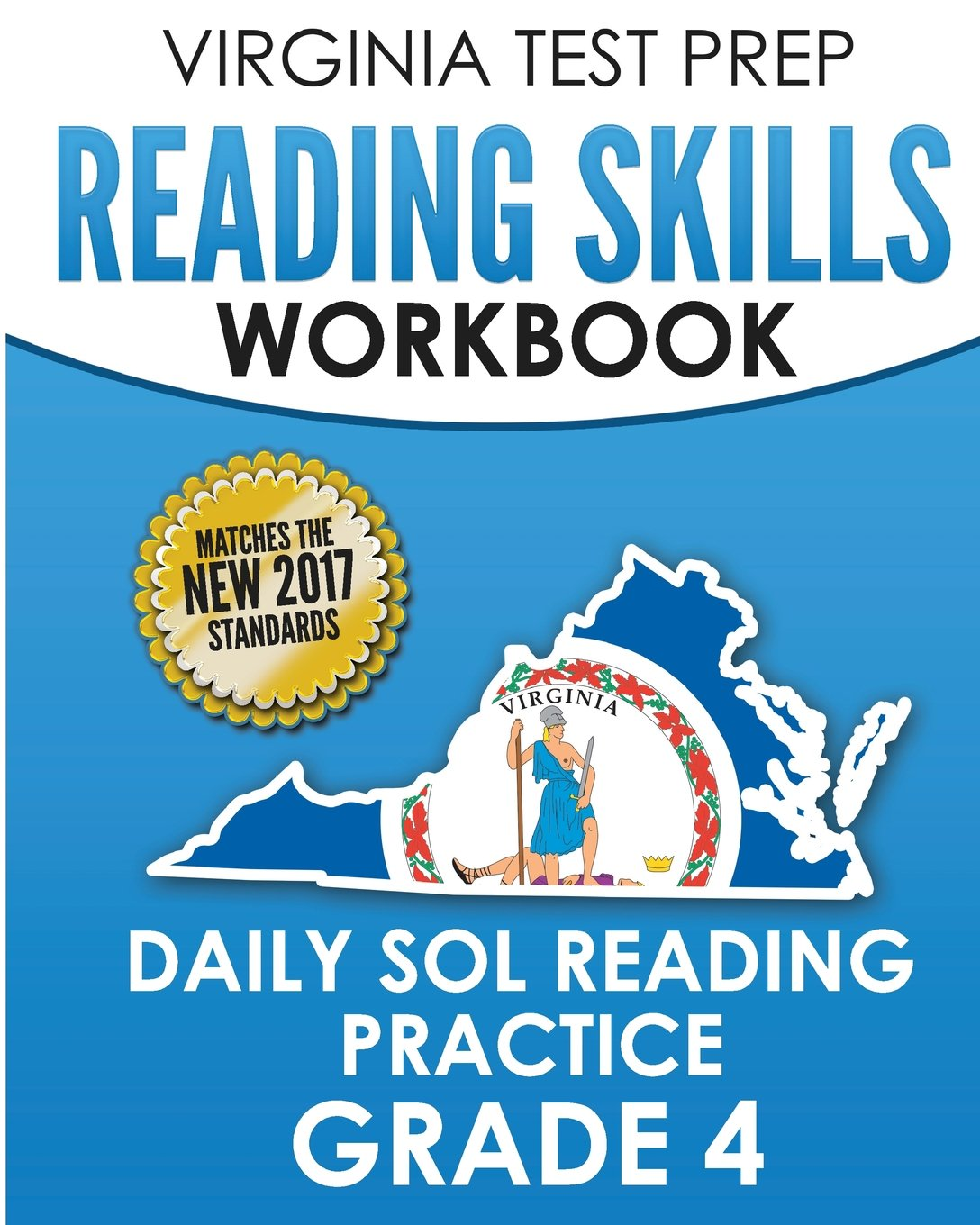 Download VIRGINIA TEST PREP Reading Skills Workbook Daily SOL Reading Practice Grade 4: Practice for the SOL Reading Assessments PDF