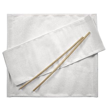 Ricambi Teli Sedie Regista.Arredasi Ricambi Per Sedia Regista Set Di 2 Cotone Bianco