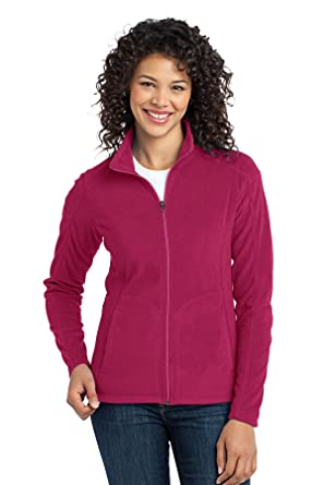 a8f111d6e31 Port Authority Women s Microfleece Jacket at Amazon Women s Coats Shop